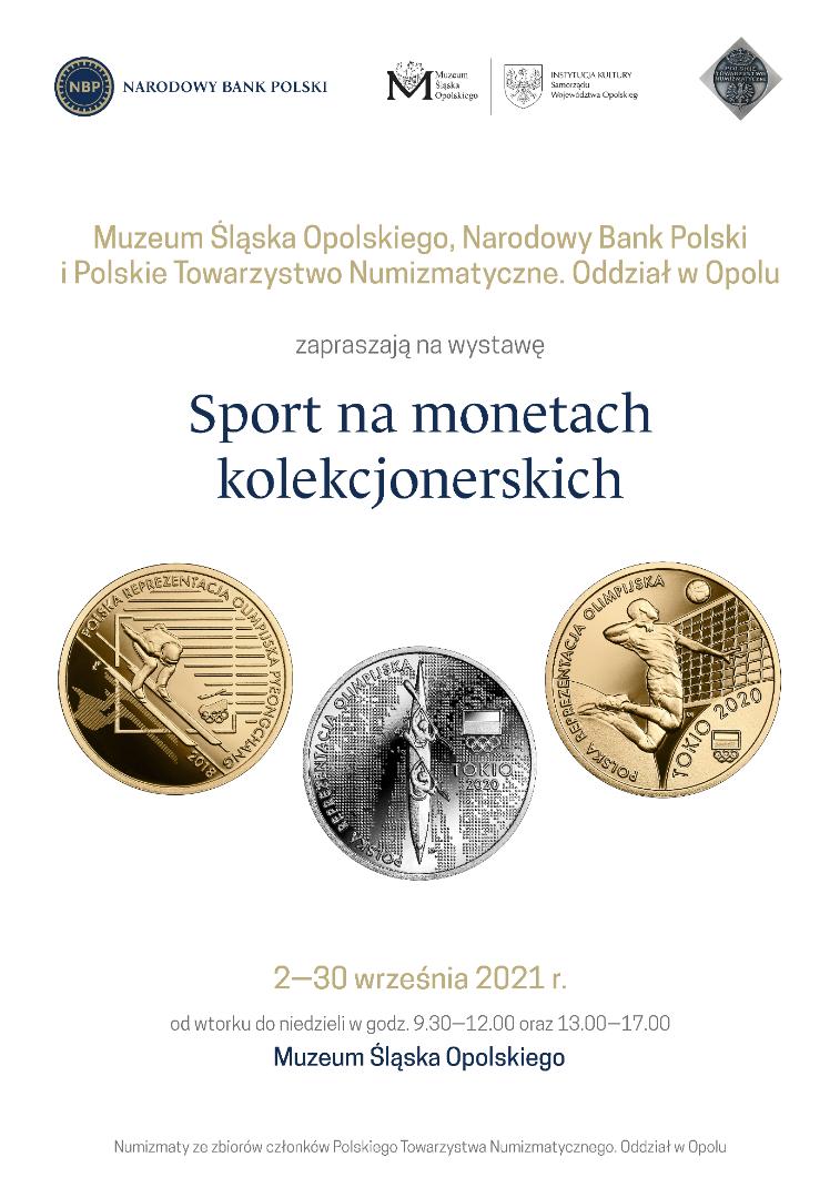 Plakat wystawa numizmatyczna
