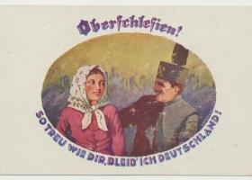 Pocztówka propagandowa z okresu plebiscytowego