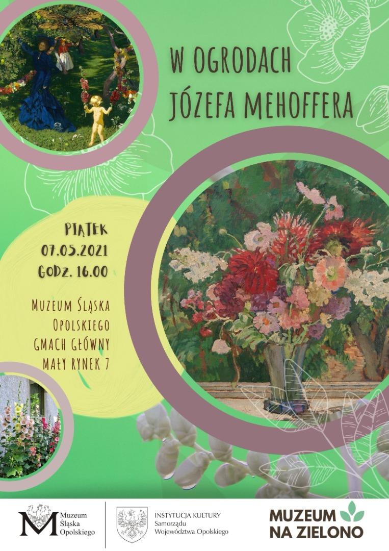 W ogrodach Józefa Mehoffera - plakat