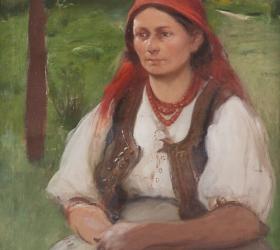 Włodzimierz Tetmajer, Portret żony artysty