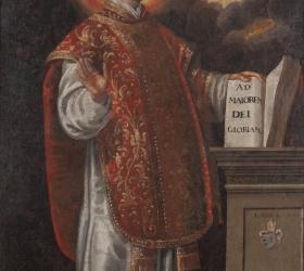 Postać św. Ignacego Loyoli