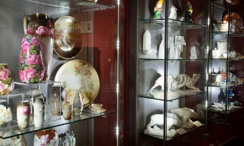Ceramika górnośląska -fragment wystaw stałej