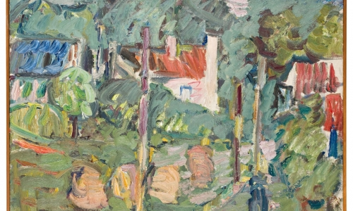 Wystawa stała - Cybis malarstwo