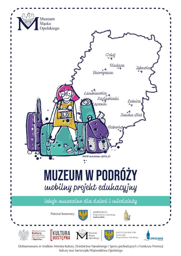 Muzeum w podróży plakat