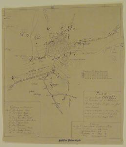 H1681SMG, Plan Opola Cimbollka z 1895 r., druk – po konserwacji