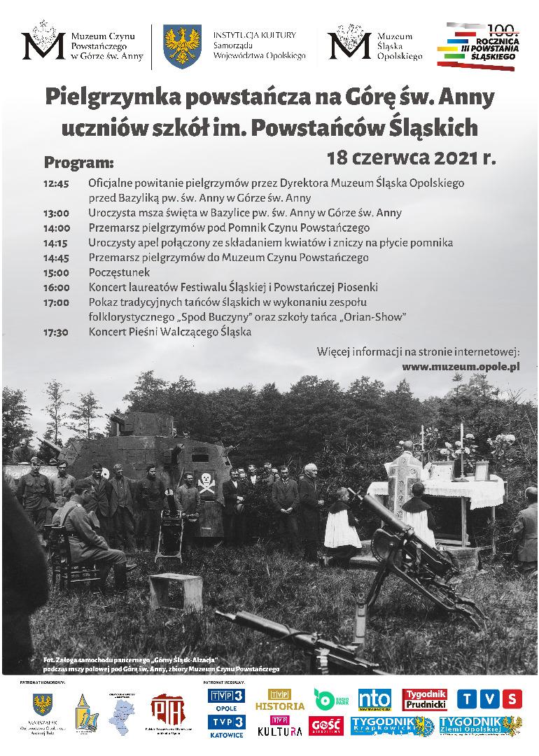 Plakat pielgrzymki Powstańćzej